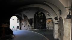 Gradec Stone Gate, Zagreb Stock Footage