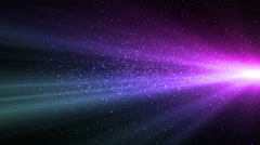 Horizon Purple Blue Stock Footage