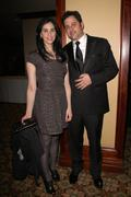jimmy kimmel, sarah silverman.writers guild of america awards.held at the hya - stock photo