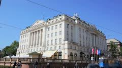 Hotel Esplanade, Zagreb Stock Footage