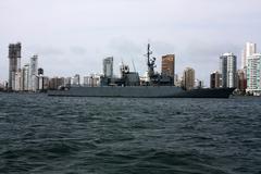 Sailing warship Stock Photos