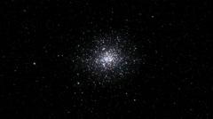 Star cluster seamless loop Stock Footage
