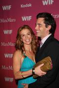poppy montgomery and her husband, actor adam kaufman.2009 women in film cryst - stock photo
