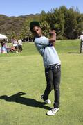 Stock Photo of aaron aka swayze.12th annual women in film celebrity golf classic.held at the