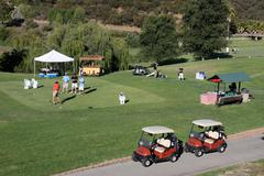 Atmosphere.12th annual women in film celebrity golf classic.held at the malib Stock Photos
