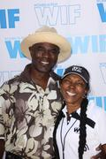 Glen turman, wif board member,candace bowen.12th annual women in film celebri Stock Photos