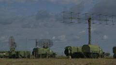 Military Radar Base - stock footage