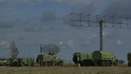 Stock Video Footage of Military Radar Base