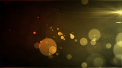 Particle Array Amber Orange Stock Footage