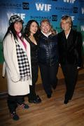 hillary bibicoff, lili haydn, lucy webb and barbara boyle .sundance film fest - stock photo
