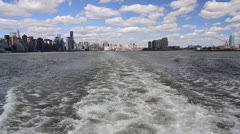 New York Skyline - stock footage
