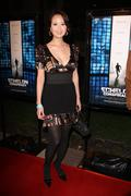 "michelle chin.""echlon conspiracy"" world premiere.held at the paramount pictur - stock photo"