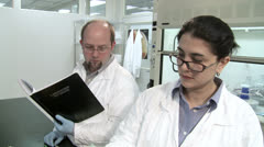 Lab work 24-2 HH Stock Footage