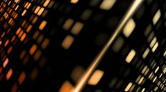 Stock Video Footage of LED Convergance Amber Orange