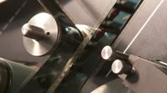 telecine 01 - stock footage