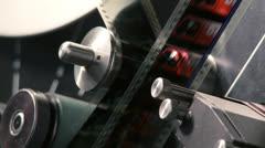 telecine 24 - stock footage