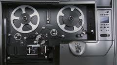 telecine 25 - stock footage