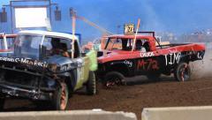 Truck Derby Stock Footage