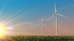 Ecological energy Stock Footage