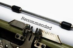 Stock Photo of recommended