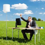 Stock Photo of successful businessman