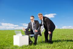 Stock Photo of businessmen