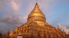 Began Pagoda Stock Footage