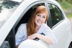 Stock Photo of female driver