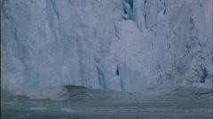 Calving Glacier, Alaska Stock Footage