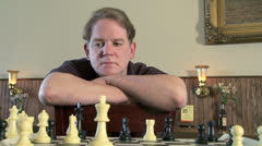 Chess 01 - stock footage