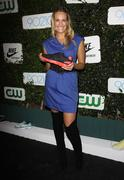 """Stock Photo of ashlan gorse.nike and the cw celebrate the launch of season 2 of """"90210"""".held"""