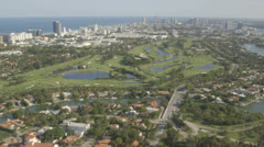 Aerial View of Miami, Florida Stock Footage