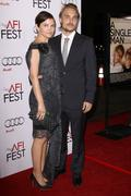"Ginnifer goodwin and joey kern.afi fest 2009 screening of ""a single man"" clos Stock Photos"