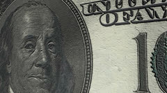 Dollar currency value up, increase, positive. Stock Footage