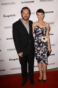 Peter sarsgaard and carey mulligan.premiere of sony pictures classics' ''an e Stock Photos