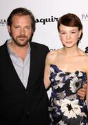 peter sarsgaard and carey mulligan.premiere of sony pictures classics' ''an e - stock photo