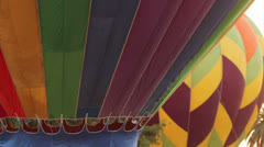 Hot Air Baloon Detail Stock Footage