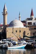 Stock Photo of mosques in israel