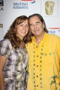 Stock Photo of beau bridges and wife wendy treece.bafta-los angeles 7th annual tv tea party