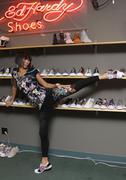 Stock Photo of bai ling.bai ling visits the ed hardy shoe wearhouse.held at psdi-usa.los ang