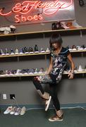 Stock Photo of bai ling.bai ling visits the ed hardy shoe wearhouse.held at psdi-usa.los ang