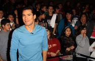 "Stock Photo of mario lopez.""ben 10: alien swarm"" premiere.held at warner bros. studios .burb"
