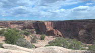 Stock Video Footage of Arizona Canon de Chelly cliffs