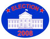 Stock Illustration of election 2008