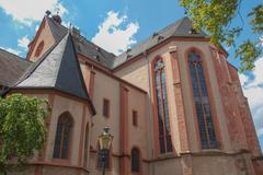 Stock Photo of st stephan church mainz