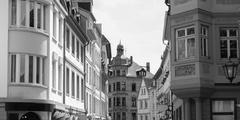 Stock Photo of mainz old town