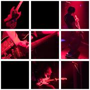 Band plays live - grid Stock Photos