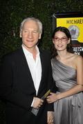 "Bill maher and kara santa maria.""capitalism: a love story"" los angeles premie Stock Photos"