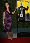 """lisa edelstein.""""capitalism: a love story"""" los angeles premiere.held at the ac - stock photo"""