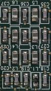 array of smds - stock photo